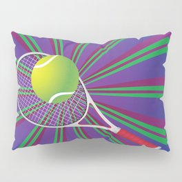 Tennis Ball and Racket Pillow Sham