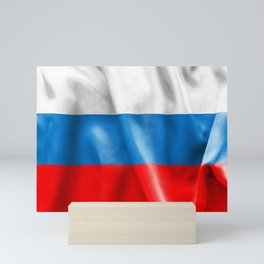 Russian Federation Flag Mini Art Print