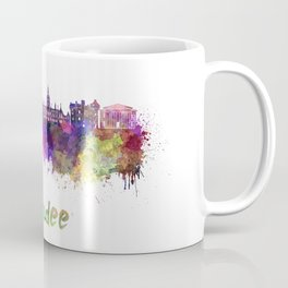 Dundee skyline in watercolor Coffee Mug