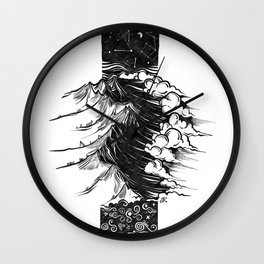 The Contrast Wall Clock
