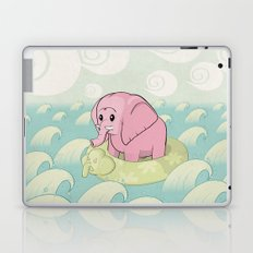 Elephant Across the Sea Laptop & iPad Skin