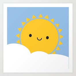 Good Morning Sunshine Art Print