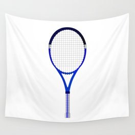 Tennis Racket Wall Tapestry