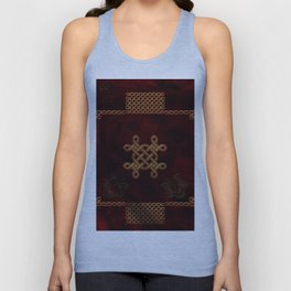 Celtic knote, vintage design Unisex Tank Top