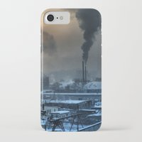 industrial iPhone & iPod Cases featuring Industrial by Abramskama