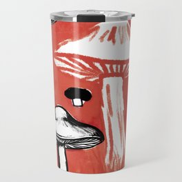 Wild Mushrooms Travel Mug
