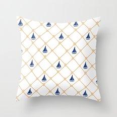 Netting Throw Pillow