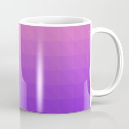 Pink and Purple Ombre - Flipped Coffee Mug