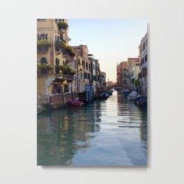 Venezia, Italy, The Dorseduro Metal Print