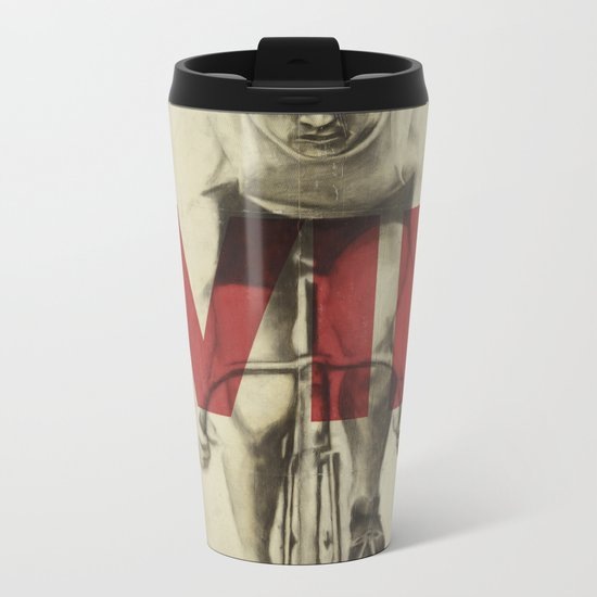 Win Metal Travel Mug