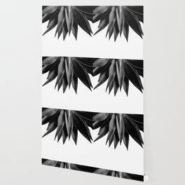 Agave fringe - noir Wallpaper
