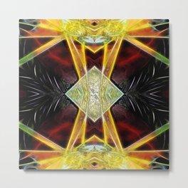 Tarot card  IX - The Hermit Metal Print