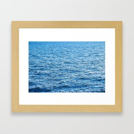 Big Blue  Port St. Joe Marina view 25 Framed Art Print