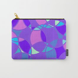 Circles, in winter colours Carry-All Pouch