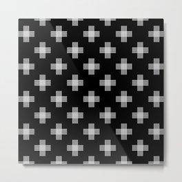 Simple tribal pattern 3 Metal Print