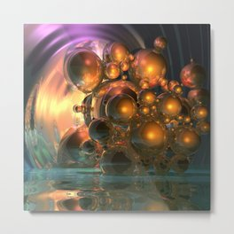 light and reflection Metal Print