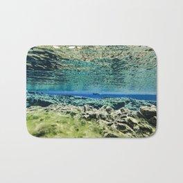 Straddling Continents Bath Mat