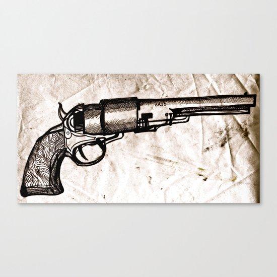 American Pistol II Canvas Print
