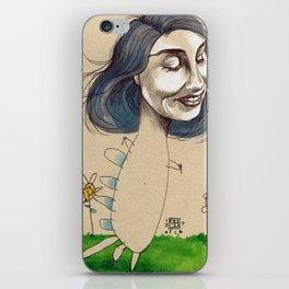 DINOSAUR GIRL iPhone Skin