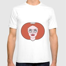 Magenta - The Rocky Horror Picture Show MEDIUM White Mens Fitted Tee