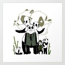 Sinon, un panda (7) Art Print