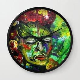 """Frida Kahlo """"Sing baby Sing"""" Wall Clock"""