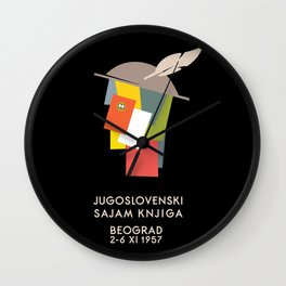 Glory to Yugoslavian design Wall Clock