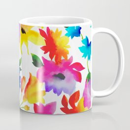 Dancing Floral Coffee Mug