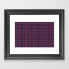 Da Vinci Rosslyn Rose Tartan Framed Art Print