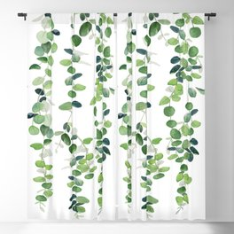 Eucalyptus Garland  Blackout Curtain
