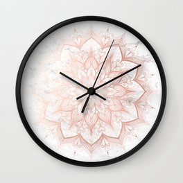 Imagination Rose Gold Wall Clock