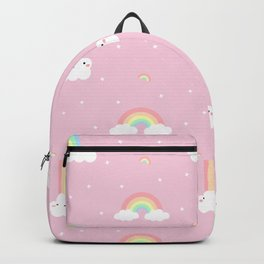Rainbow Clouds Backpack