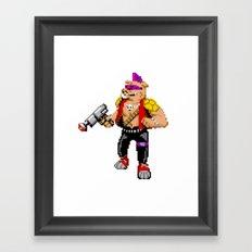 Bebop Framed Art Print