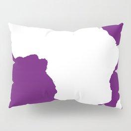 African Violet Audacious Africa Pillow Sham