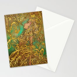 Golden Spells Stationery Cards