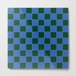 Squared Illusion Metal Print