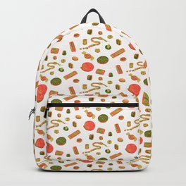 Old Fashioned Boiled Sweets: Alternate Colour by Chrissy Curtin Backpack