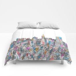San Francisco Coit view Comforters
