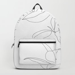 Minimal Rubber Tree Backpack