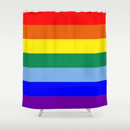 Rainbow Original Shower Curtain
