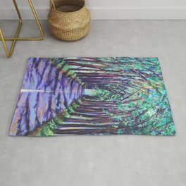 Kauai Tree Tunnel Rug