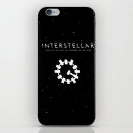 INTERSTELLAR iPhone Skin