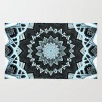 deco Area & Throw Rugs featuring Deco Symmetry by Octavia Soldani