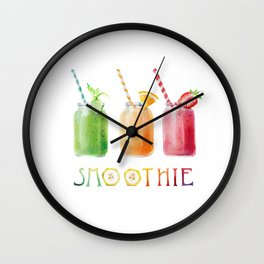 Smoothie Wall Clock