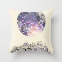 cincinnati Throw Pillows featuring Cincinnati Fairy Tale by Signe