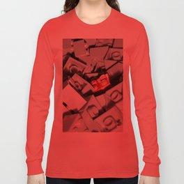 Red Brick Long Sleeve T-shirt