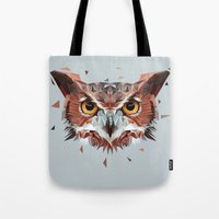 hunter Tote Bags featuring Hunter by Jordan Smith