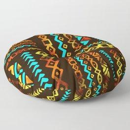 Bold Ethnic pattern n.5 Floor Pillow