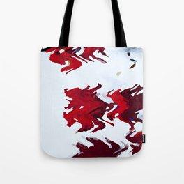 Red Ribbons Tote Bag