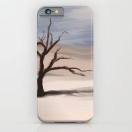 Alone Tree iPhone Case
